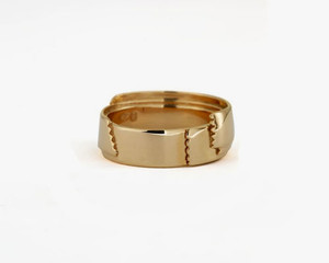 """""""L'oubli"""" Ring gold"""