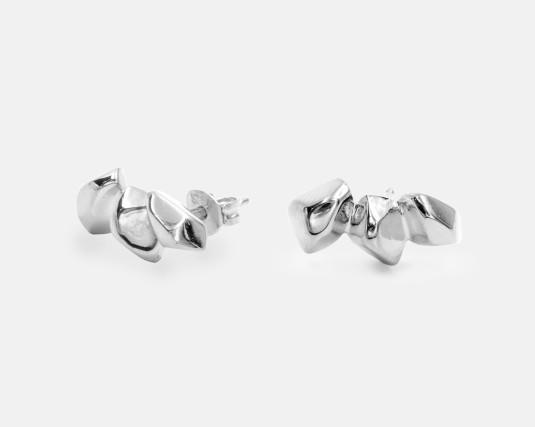 Boucles d'oreilles argent   © Espèces
