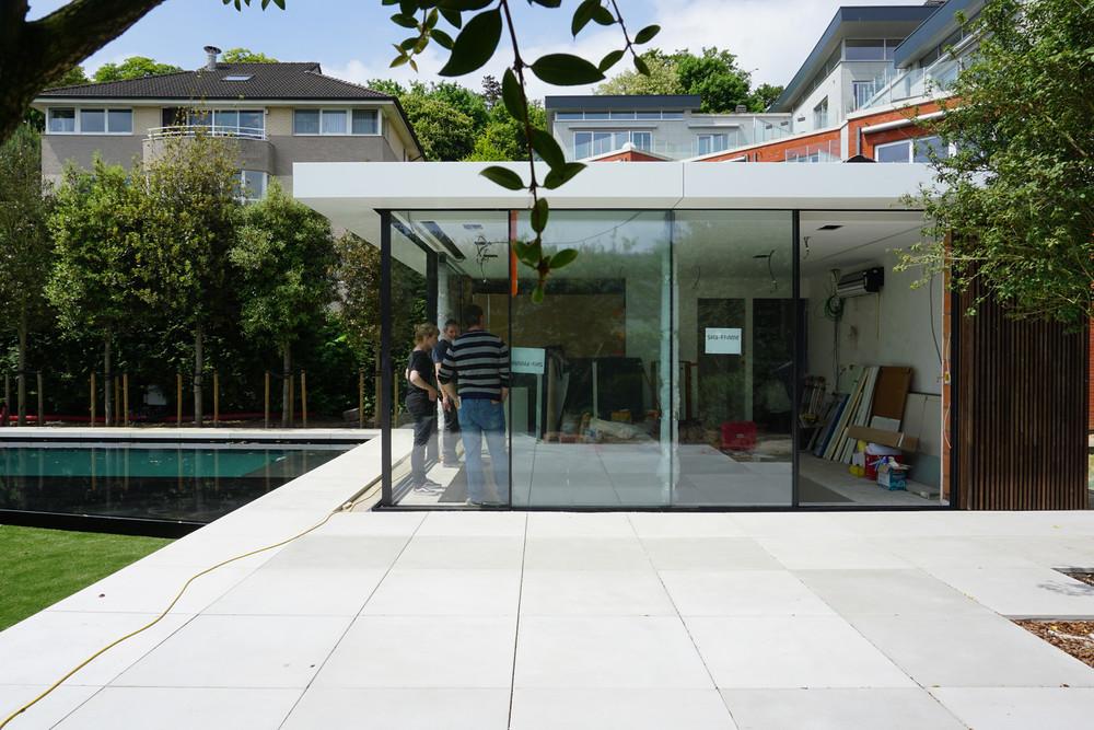 Pool house | © ajstudio