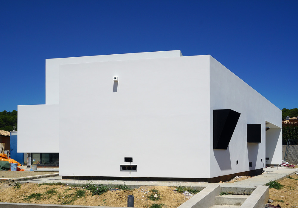 Construction d'une nouvelle maison privée | © ajstudio
