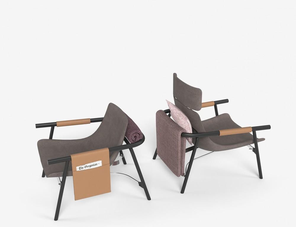 EDDY / Chaise Lounge  | © Alain Gilles