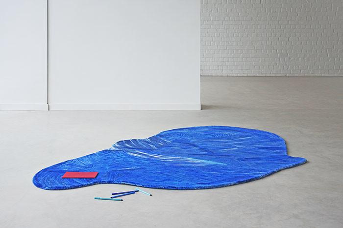 Tapis bleu | © Nicolas Bovesse