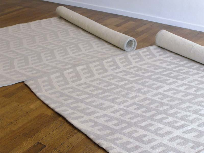 Nerro/Merro, tapis en feutre | © Antonin Bachet