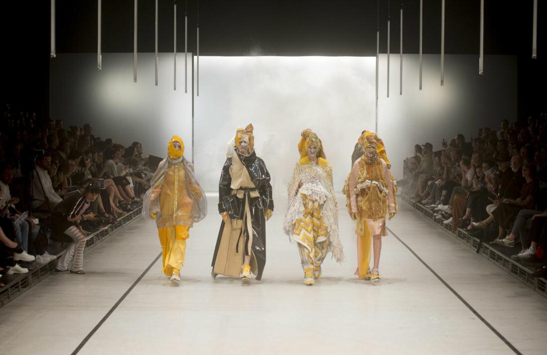 Fashion show La Cambre 2017